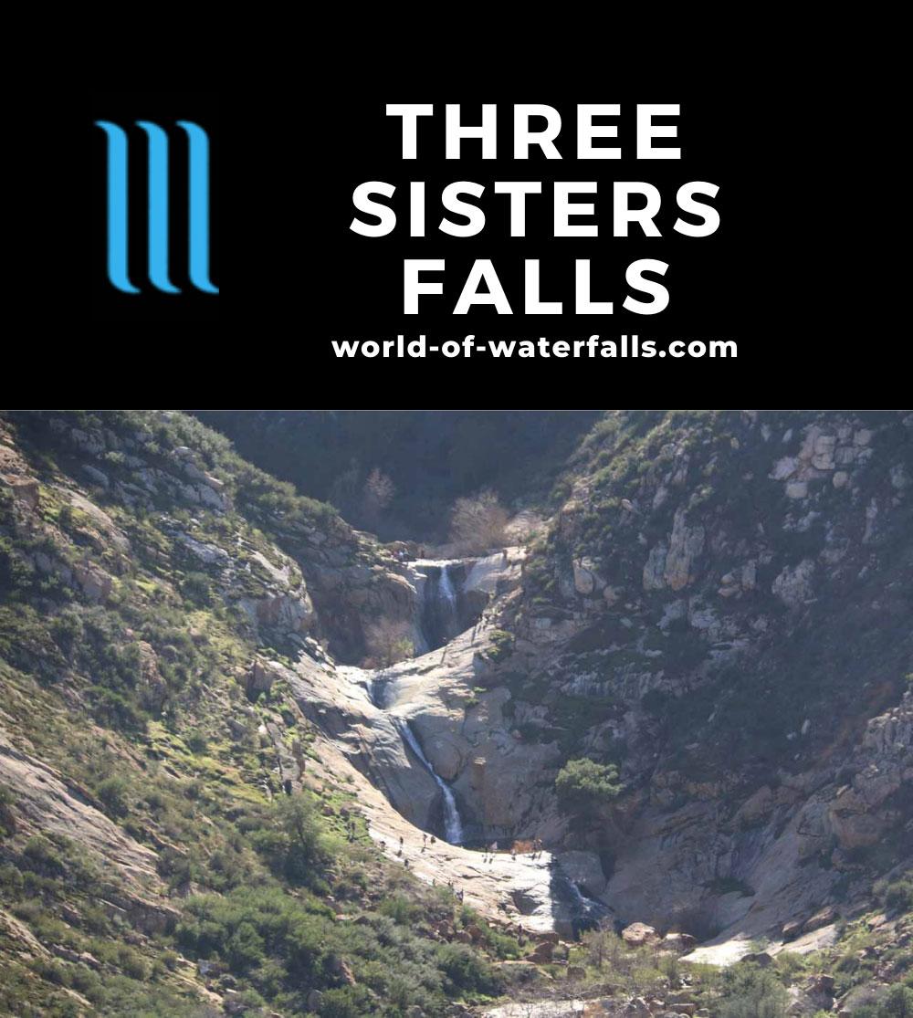 Three_Sisters_Falls_280_01242016 - The Three Sisters Falls