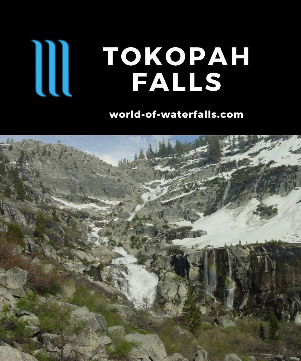 Tokopah_Falls_017_05272005 - Tokopah Falls surrounded by still lots of snow
