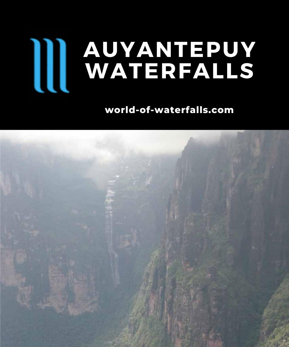 Transmandu_flight_040_11222007 - Some of the Auyantepuy Waterfalls that we encountered