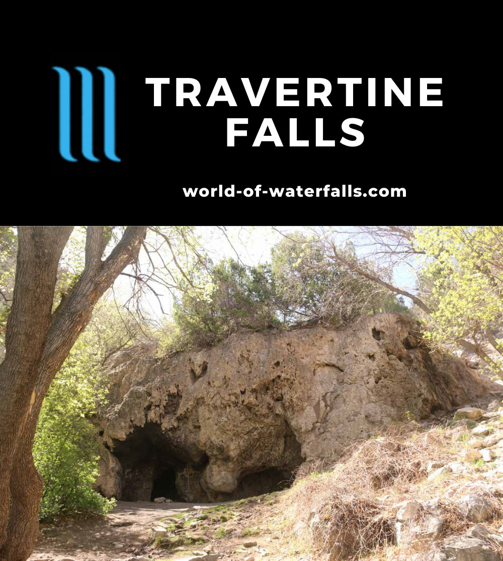 Travertine_Falls_016_04142017 - The travertine formation that harbored Travertine Falls