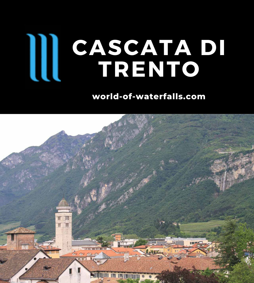 Trento_140_20130601 - Context of Trento and the 'Cascata di Trento'