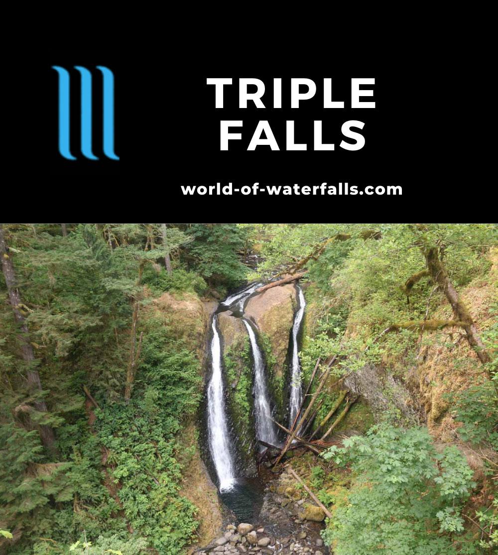 Triple_Falls_CRG_071_08172017 - Triple Falls in late Summer flow as of August 2017