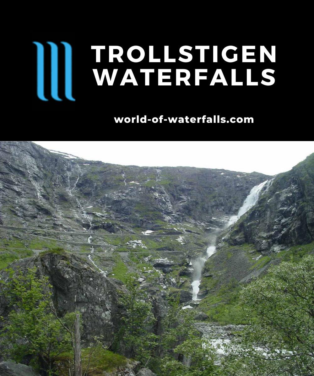 Trollstigen_010_07022005 - Stigfossen and the wall necessitating Trollstigen as seen in our first visit in July 2005