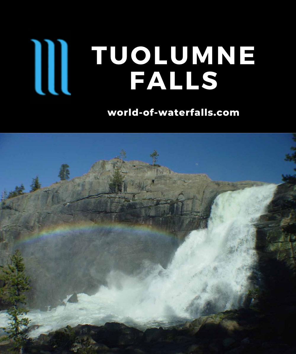 Tuolumne_Falls_011_05292004 - Tuolumne Falls and rainbow
