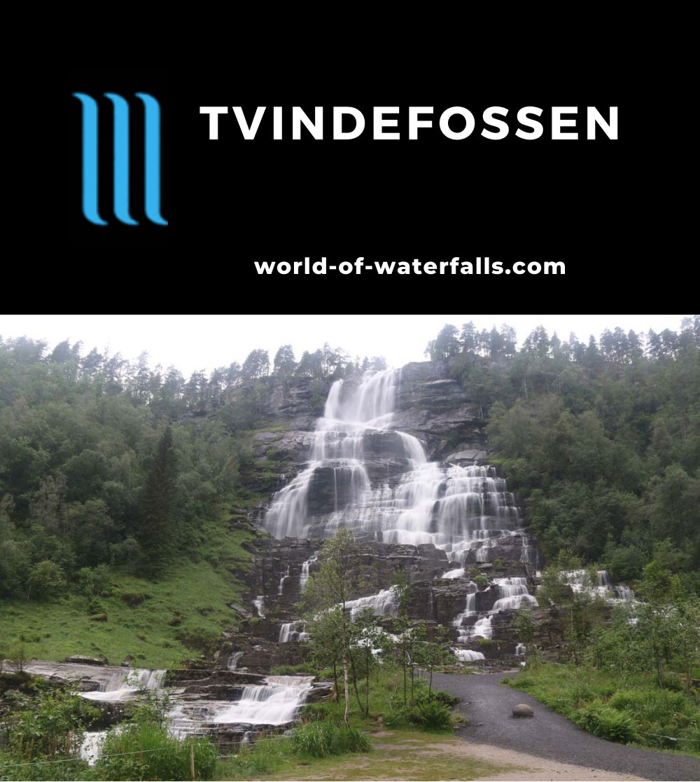 Tvindefossen_009_06252019 - Tvindefossen in the early morning before the tour bus crowds started showing up on our late June 2019 visit