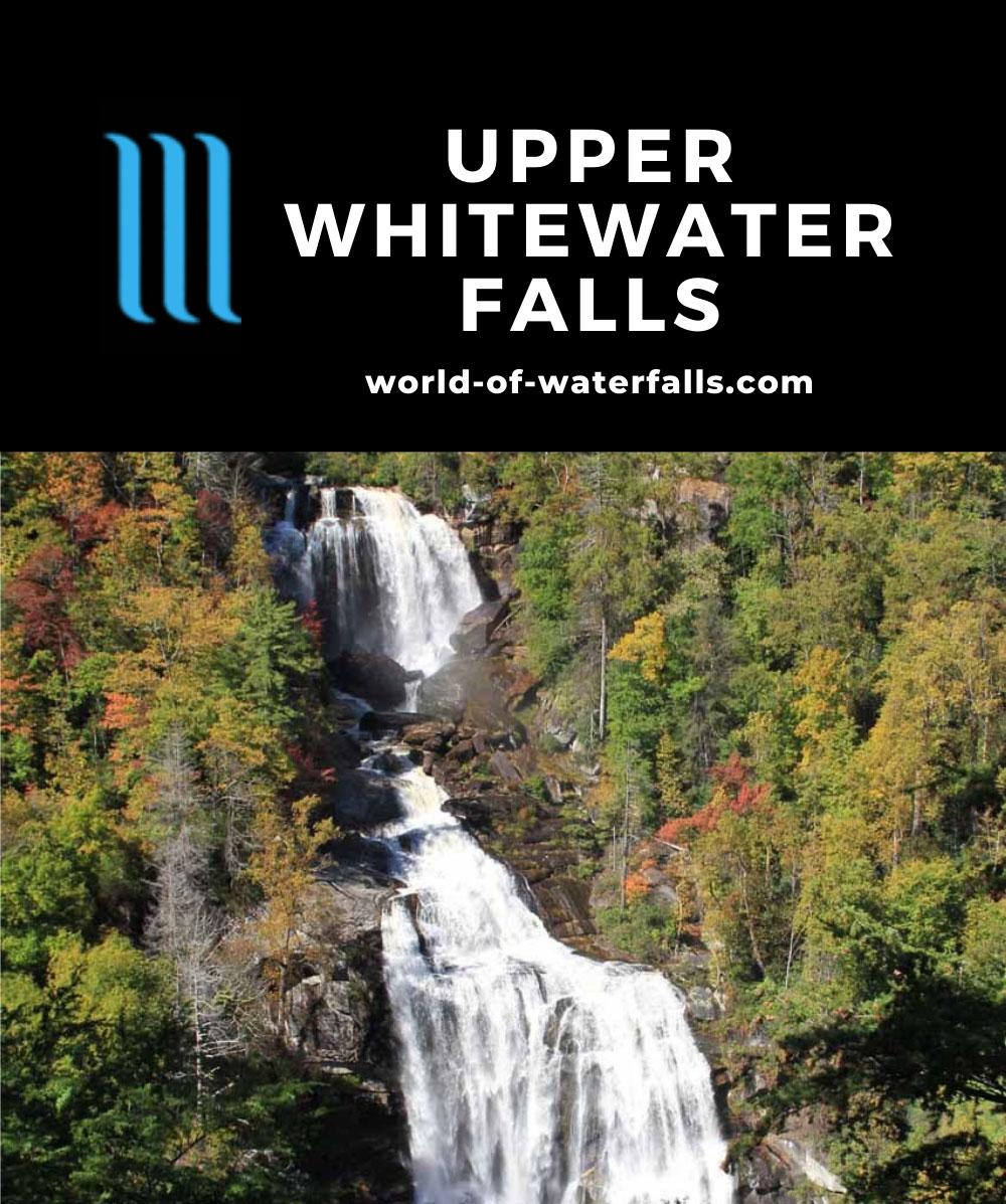 Upper_Whitewater_Falls_013_20121015 - Upper Whitewater Falls
