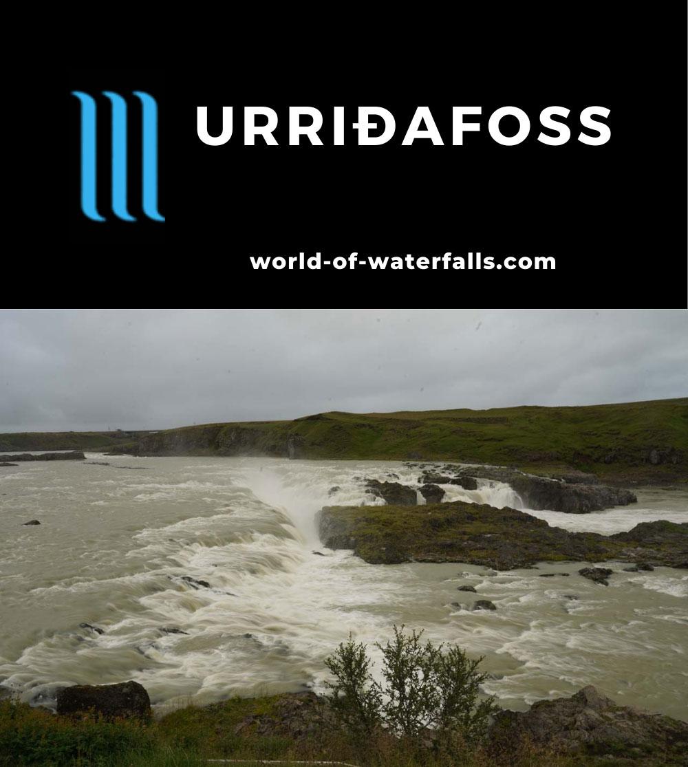 Urridafoss_085_08192021 - Urridafoss (Urriðafoss) on the Þjórsá River