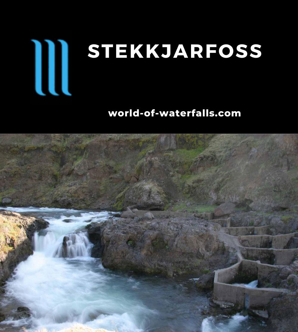 Vatnsdalur_018_06262007 - Stekkjarfoss and fish ladder