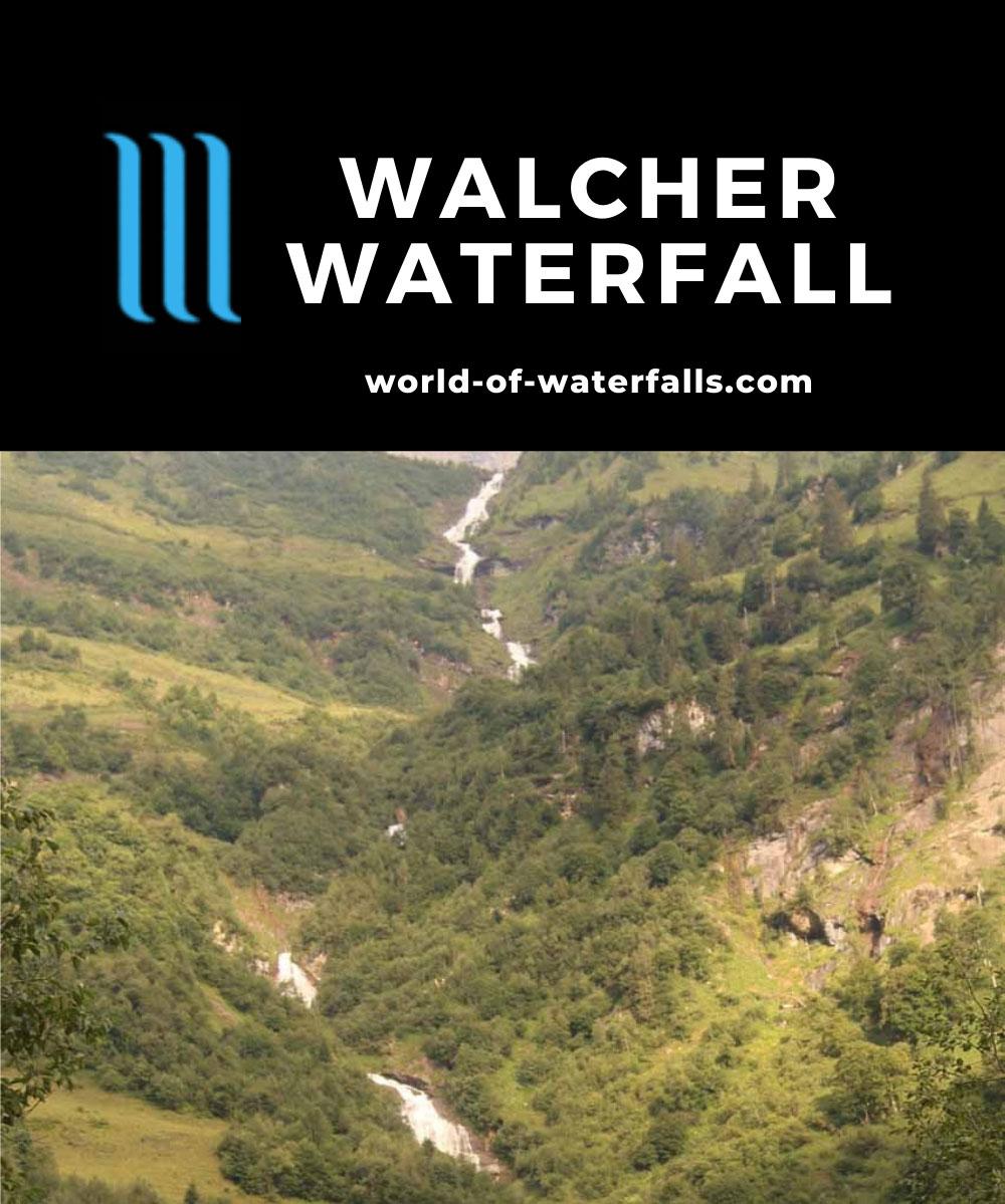 Walcher_Waterfall_228_07132018 - Walcher Waterfall or Schleierfall on the Walcher Bach