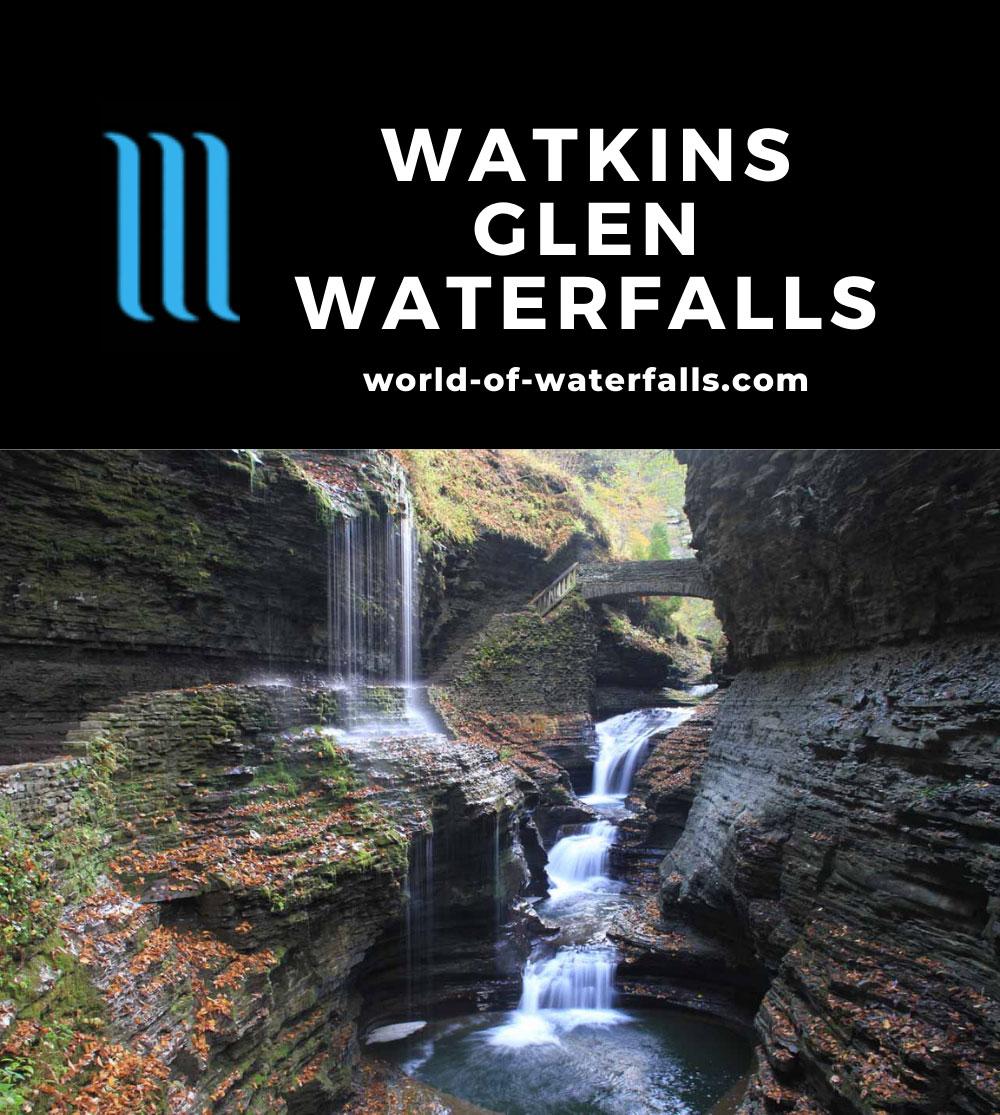 Watkins_Glen_182_10152013 - Rainbow Falls - one of the beautiful waterfalls deep within the Watkins Glen