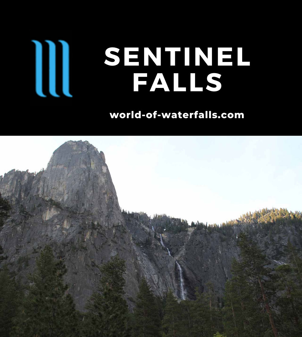 Yosemite_Valley_002_06032011 - Sentinel Falls with Sentinel Rock