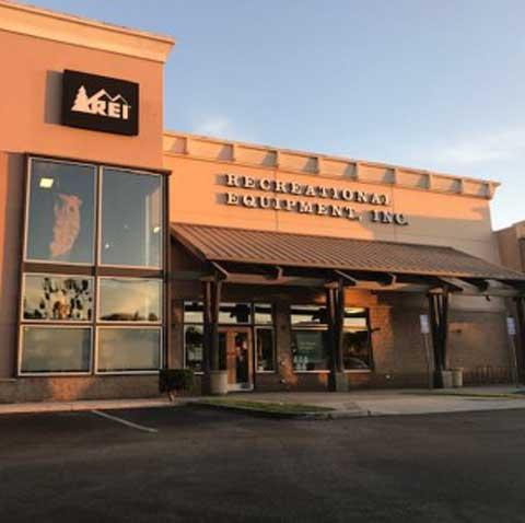 The REI store in Manhattan Beach, CA